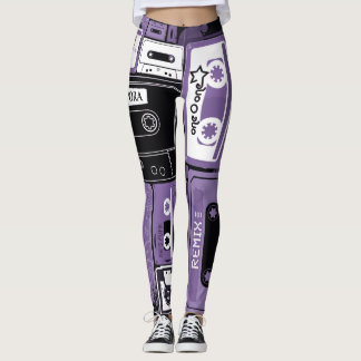 The Lost Art of the Mix Tape Leggings