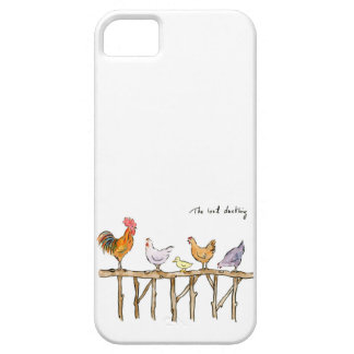 The lost duckling, chickens and duckling case for the iPhone 5