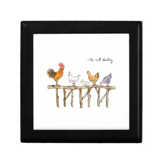 The lost duckling, chickens and duckling gift box