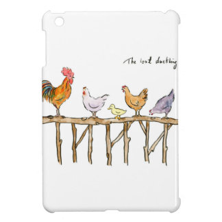 The lost duckling, chickens and duckling iPad mini cases