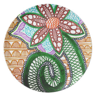 The Lost Flower Plate