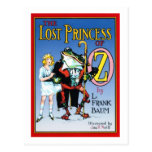 The Lost Princess Of Oz Post Card