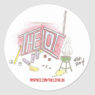 The Lot Blog Sticker