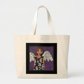 THE LOTTERY ANGEL - lucky numbers classic tote bag