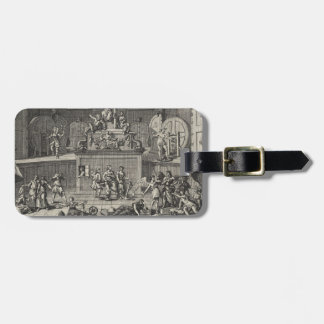 The Lottery by William Hogarth Bag Tag