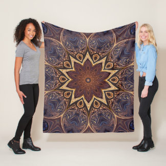 The Lotus Blossom. Fleece Blanket