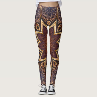 The Lotus Blossom. Leggings