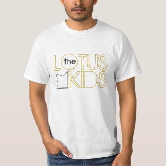 The Lotus Kids: Industrial Lotus Tee, Gold T-Shirt