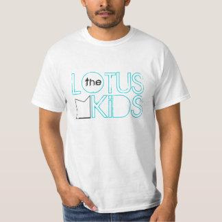 The Lotus Kids: Industrial Lotus Tee, Light Blue T-Shirt