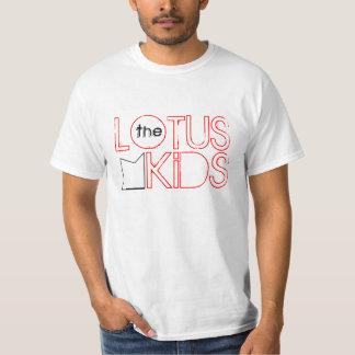 The Lotus Kids: Industrial Lotus Tee, Red T-Shirt