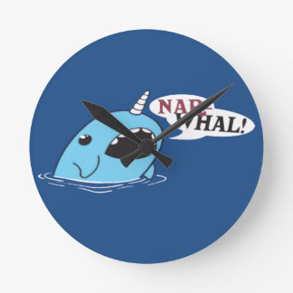 The Loud Narwhal Clock