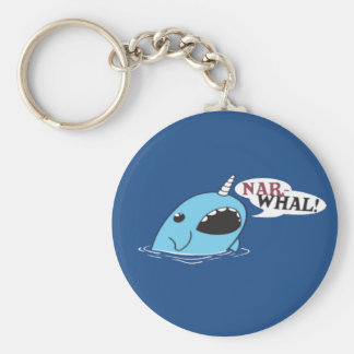 The Loud Narwhal Keychain