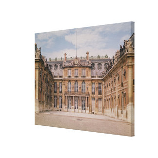 The Louis XIII Courtyard, or the Marble Stretched Canvas Prints