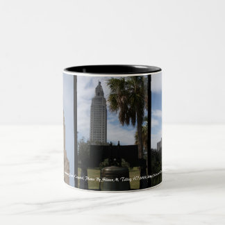 The Louisiana State Capitol Two-Tone Coffee Mug