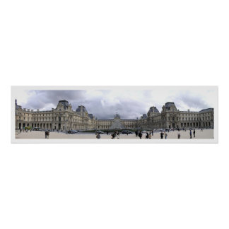 The Louvre Panoramic Poster