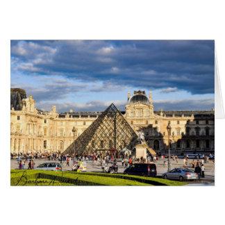 The Louvre, Paris Card