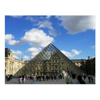 The Louvre Postcard