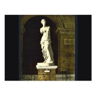 The Louvre, the Venus de Milo, Paris, France class Postcard