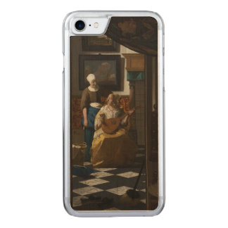 The Love Letter by Johannes Vermeer Carved iPhone 7 Case