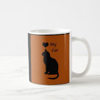 The Love My Cat Coffee Mug