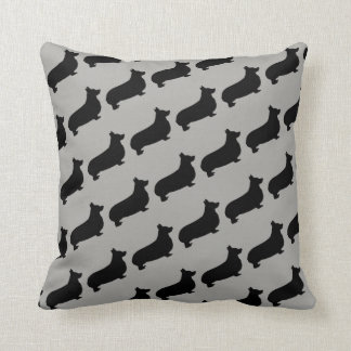 The Love of Corgi Dogs Pillow
