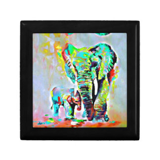 The Love Of Elephants Gift Box