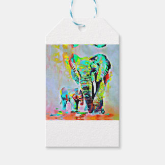 The Love Of Elephants Gift Tags