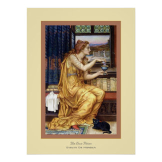The Love Potion ~ Evelyn De Morgan Poster