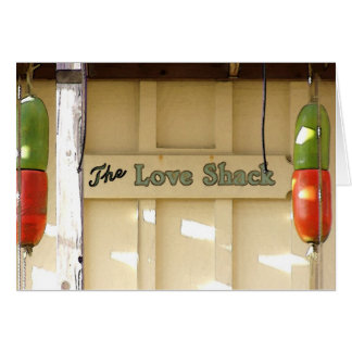 The Love Shack - Card