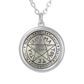 THE LOVE TALISMAN SILVER PLATED NECKLACE