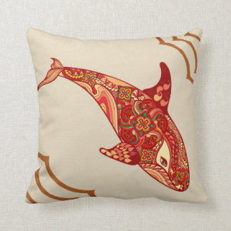 The Love Whale cushion