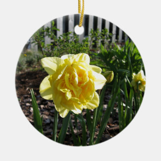 The Lovely Daffodil Ceramic Ornament
