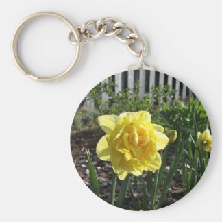 The Lovely Daffodil Keychain