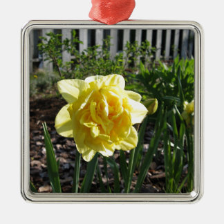 The Lovely Daffodil Metal Ornament