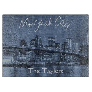 The Lovely New York City Skyline Cutting Board