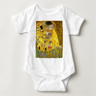 The Lovers Kiss After Klimt Baby Bodysuit