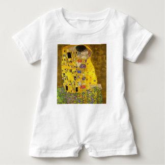 The Lovers Kiss After Klimt Baby Romper