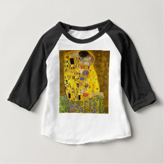 The Lovers Kiss After Klimt Baby T-Shirt