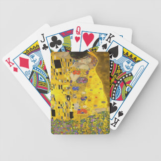 The Lovers Kiss After Klimt Poker Deck