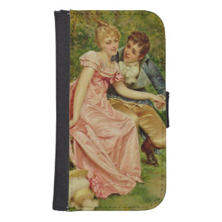 The Lovers (oil on canvas) Phone Wallet Cases