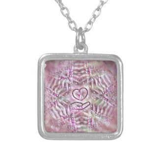 The Lovers Silver Plated Necklace