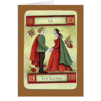 """The Lovers"" tarot card"