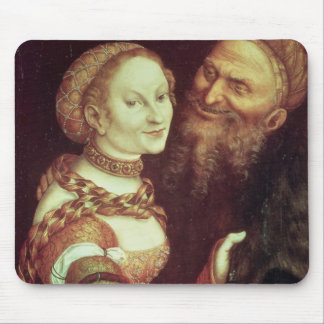 The Lovesick Old Man, 1553 (oil on panel) Mouse Pad
