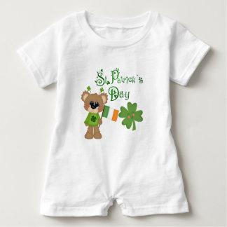 The Luck Of The Irish Baby Romper