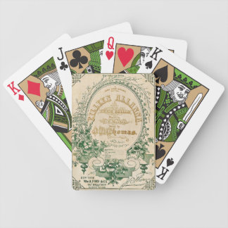 The Lucky One Bicycle Playing Cards