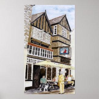 'The Lugger Inn (Fowey)' Poster