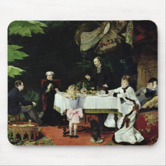 The Luncheon in the Conservatory, 1877 Mouse Pad