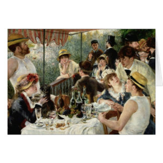 The Luncheon of the Boating Party Card