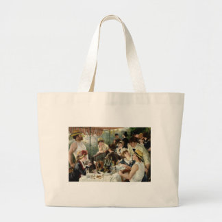 The Luncheon of the Boating Party Jumbo Tote Bag