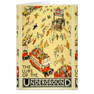 The Lure of the Underground, London Card